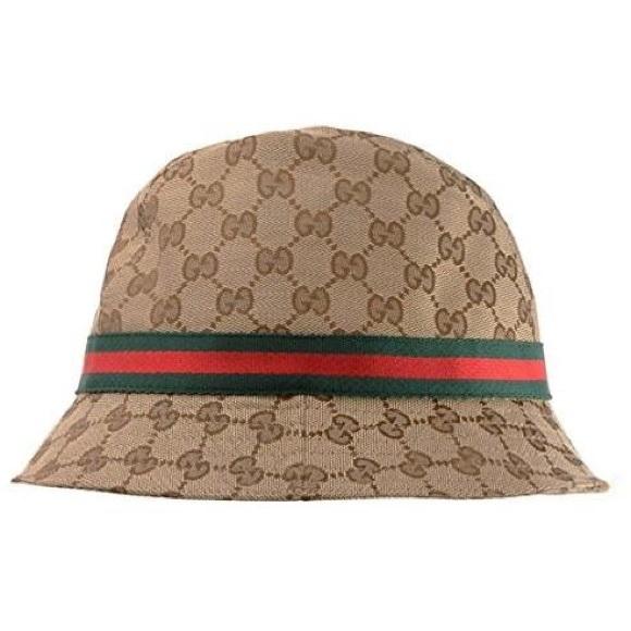 4e6452aa Gucci Accessories   Monogram Bucket Hat Fedora Size M   Poshmark